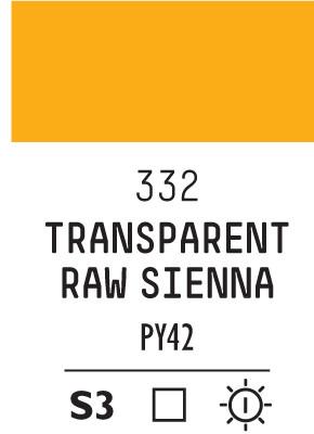 Liq Heavybody 59ml transparent raw sienna 332