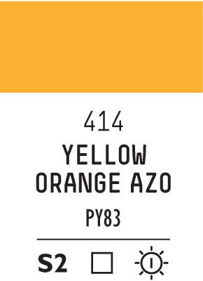 Liq Heavybody 59ml yellow orange azo 414