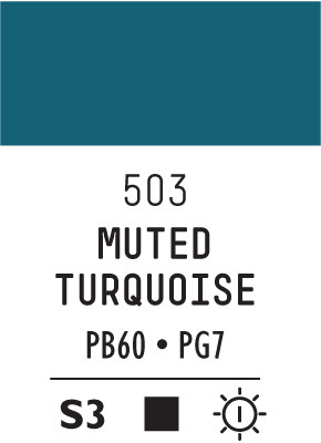 Liq Heavybody 59ml turquoise muted collecti 503