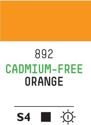 Liq Heavybody 59ml cadmium free orange 892