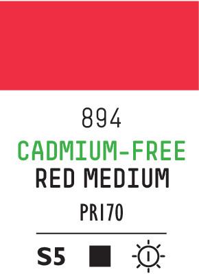 Liq Heavybody 59ml cadmium free red med 894