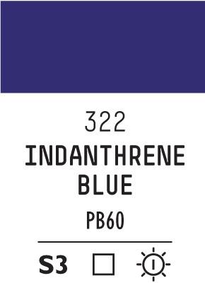 Liq Softbody 59ml indanthrene blue 322