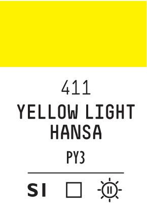 Liq Softbody 59ml yellow light hansa 411