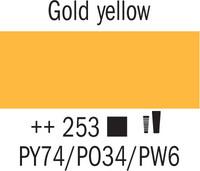 Amsterdam 120ml 253 Keltainen Kulta