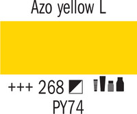 Amsterdam 120ml 268 Keltainen Azo Light