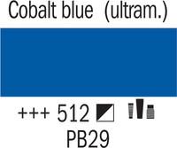 Amsterdam 120ml 512 Koboltin Sininen (ultram.)