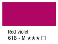 L&B Louvre Acrylic 618 Red violet