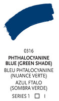 Liquitex paint marker 316 Phtalocyanine blue GS 2mm