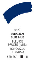 Liquitex paint marker 320 Prussian blue hue 2mm