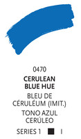 Liquitex paint marker 470 Cerulean blue hue 2mm