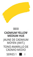 Liquitex paint marker 830 Cadmium yellow medium hu 2mm