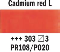 Rembrandt akv. 303 kadmium punainen light