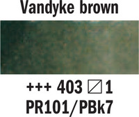 Rembrandt akv. 403 Vandyke ruskea