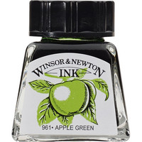 W&N Drawing ink 14ml 011 Apple green