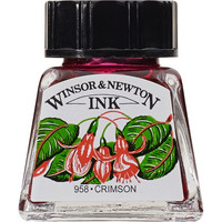 W&N Drawing ink 14ml 203 Crimson