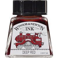 W&N Drawing ink 14ml 227 Deep red