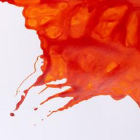 W&N Drawing ink 14ml 449 Orange