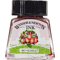 W&N Drawing ink 14ml 601 Scarlet