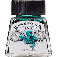 W&N Drawing ink 14ml 692 Viridian