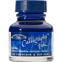 w&n Calligraphy ink 30 ml 222 Tumma Sininen