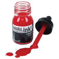 Liquitex Acrylic Ink 236 Iridescent bright silver