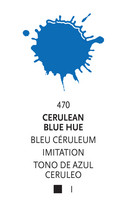Liquitex Acrylic Ink 470 Cerulean blue hue