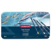Derwent Inktense -mustevärikynät, 36 kpl