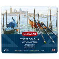 Derwent Watercolour -akvarellikynät, 24 kpl