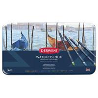 Derwent Watercolour -akvarellikynät, 36 kpl