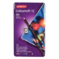Derwent Coloursoft -värikynät 12 kpl