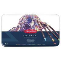 Derwent Coloursoft -värikynät, 36 kpl