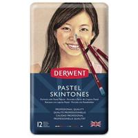 Derwent Pastel ihonväriset pastellikynät, 12 kpl