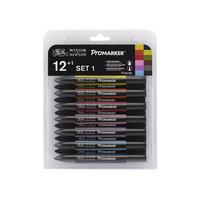 W&N Promarker 12-lajitelma set 1