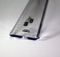 Viivoitin 50cm, läpinäkyvä, Aristo