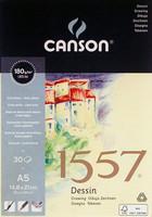 Piirustuspaperi 1557 A5 180g 30 arkkia