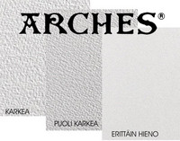 5kpl Arches 300g karkea akvarellipaperi 56 x 76cm