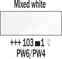 Rembrandt 40ml 103 Valkoinen sekoitukseen