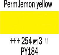 Rembrandt 40ml 254 Keltainen sitruuna