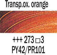 Rembrandt 40ml 273 Läpikuult. Oksidinoranssi