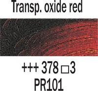 Rembrandt 40ml 378 Oksidin punainen läpik.