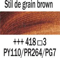 Rembrandt 40ml 418 Stil de grain ruskea