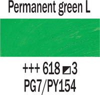 Rembrandt 40ml 618 Vihreä vaalea