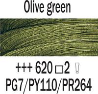 Rembrandt 40ml 620 Oliivin vihreä