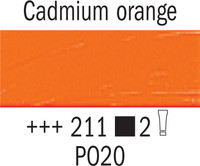 Van Gogh 40ml 211 Kadmium Oranssi