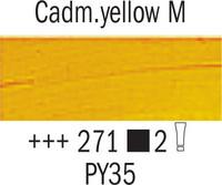 Van Gogh 40ml 271 Kadmium Keltainen Tumma