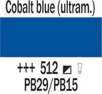 Cobra Study 200ml 512 Koboltin sininen (ultram.)