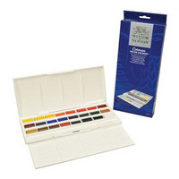 W&N Cotman Studio set 24 x 1/1 nappia