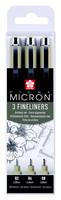 Sakura Pigma Micron ohutkärkiset kynät 3kpl