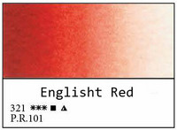 White Nights akvarellinappi 321 English red