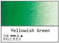 White Nights akvarellinappi 718 Yellow green